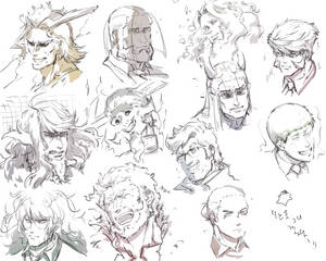 fav characters faces