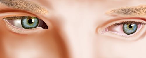Benedict Cumberbatch eyes by nagii-chan