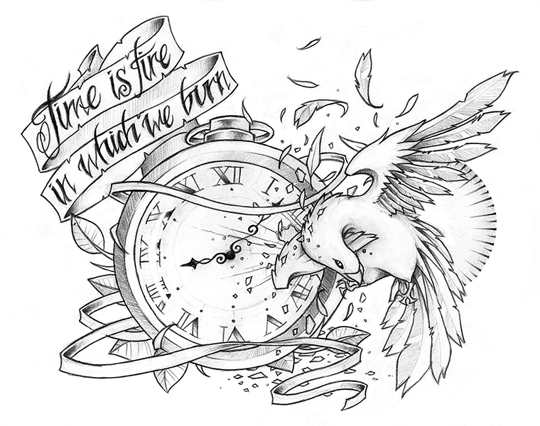 Time Is Fire By Rickisonfire On DeviantArt