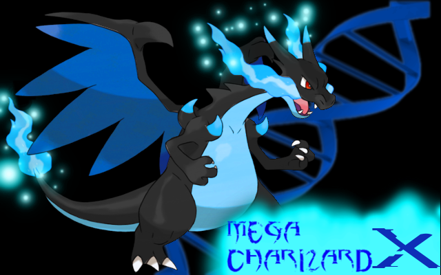 Mega Charizard X Wallpaper By Shockwave4494