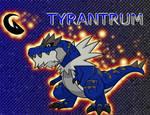 Shiny Tyrantrum Wallpaper