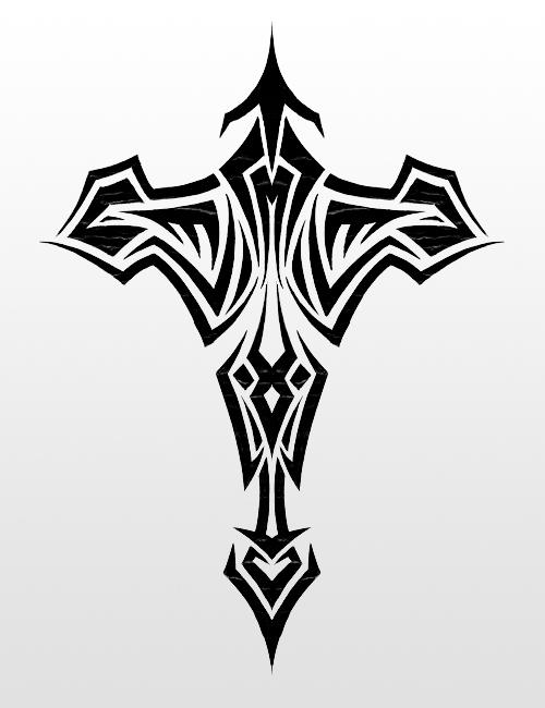 tribal cross wallpaper by - photo #10