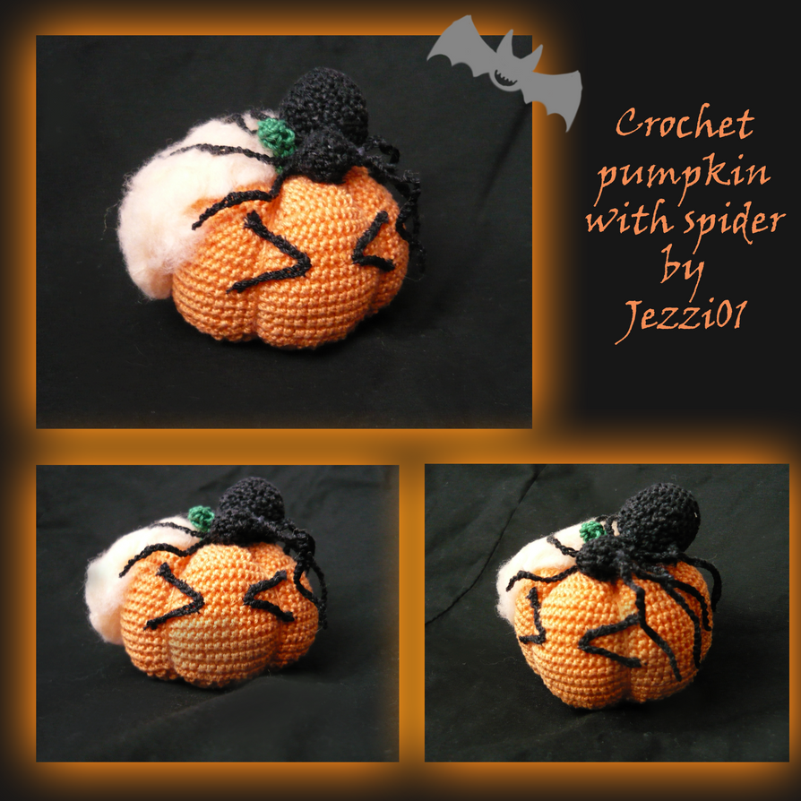 Dead pumpkin - crochet by Kropcia