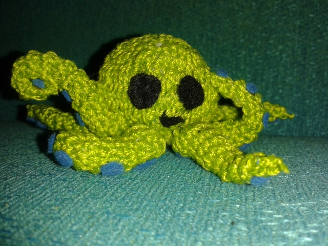 Crochet octopus by Kropcia