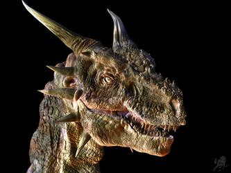dragon head by RhexFiremind