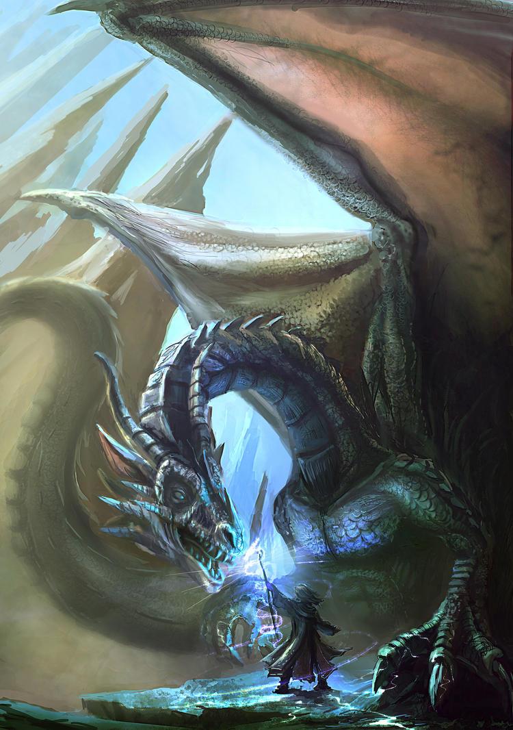Dragon sorcery by RhexFiremind