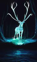 Deer05 by RhexFiremind