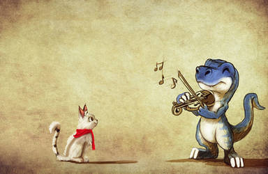 song for the kitty by RhexFiremind