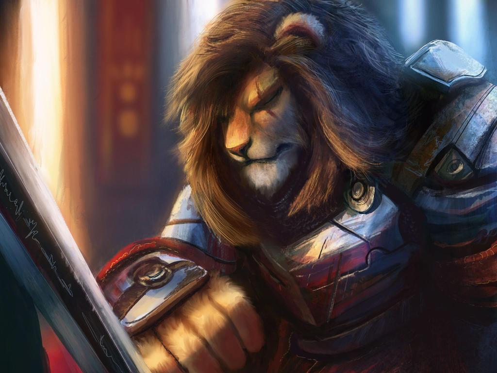 Lionknight by RhexFiremind