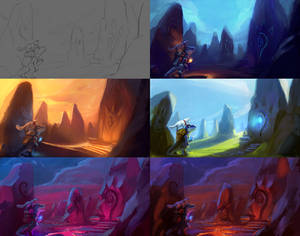 Color and theme study!