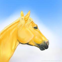 Speed Paint Palomino by CrystalSerenity
