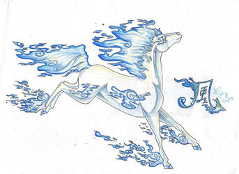 :Elemental Equine -Wind- by CrystalSerenity