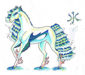 Elemental Equine -Water- by CrystalSerenity