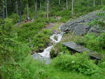 Mountain scenery-Stock