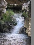 Sulfur Water fall-Stock