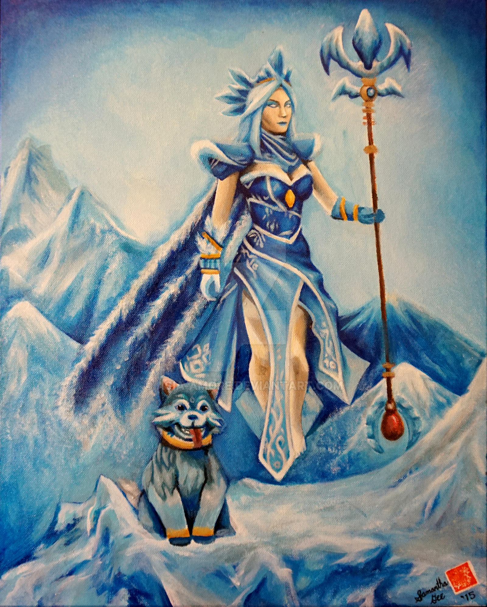 Crystal Maiden Arcana By Asia Amore On Deviantart