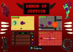 Demon of Justice Promotional Art by MorbidPandaUK