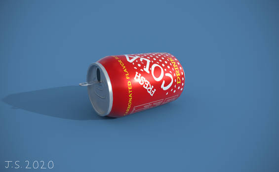 Cola Can Render