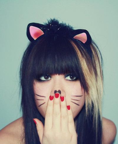 Фото на аву девушка с ушками