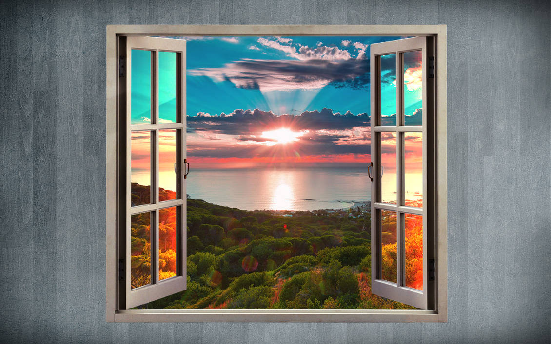 Look At The Window Abstract Wallpaper By Angela White On Deviantart