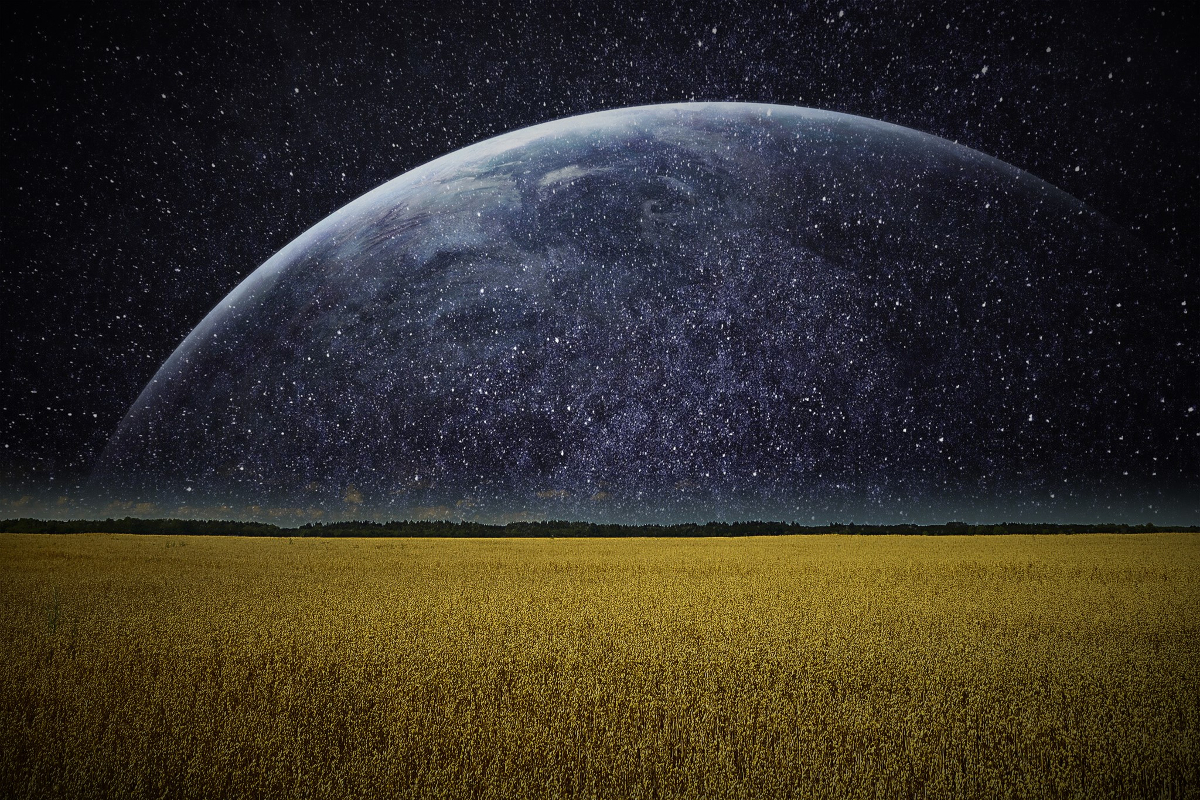 Earth In The Night Wallpaper By Angela White On Deviantart