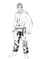 shane, drawing 9 by Awesom-O-5000