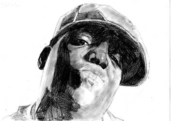 shane, Drawing 12 - Biggie by Awesom-O-5000