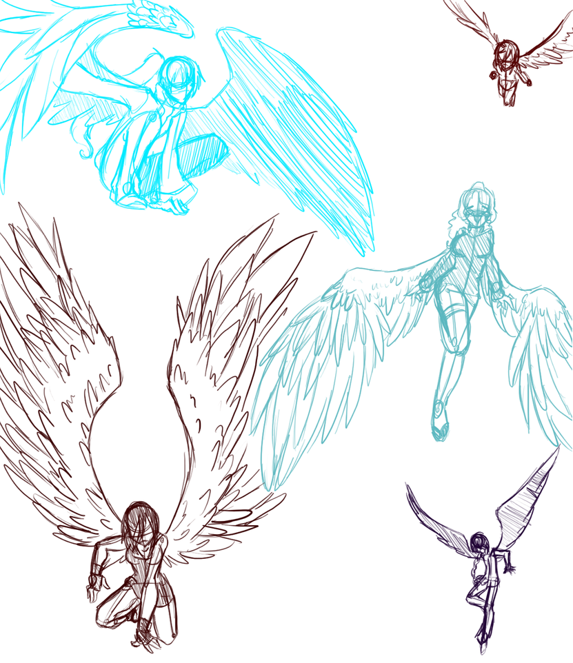 The gallery for --> Anime Chibi With Wings