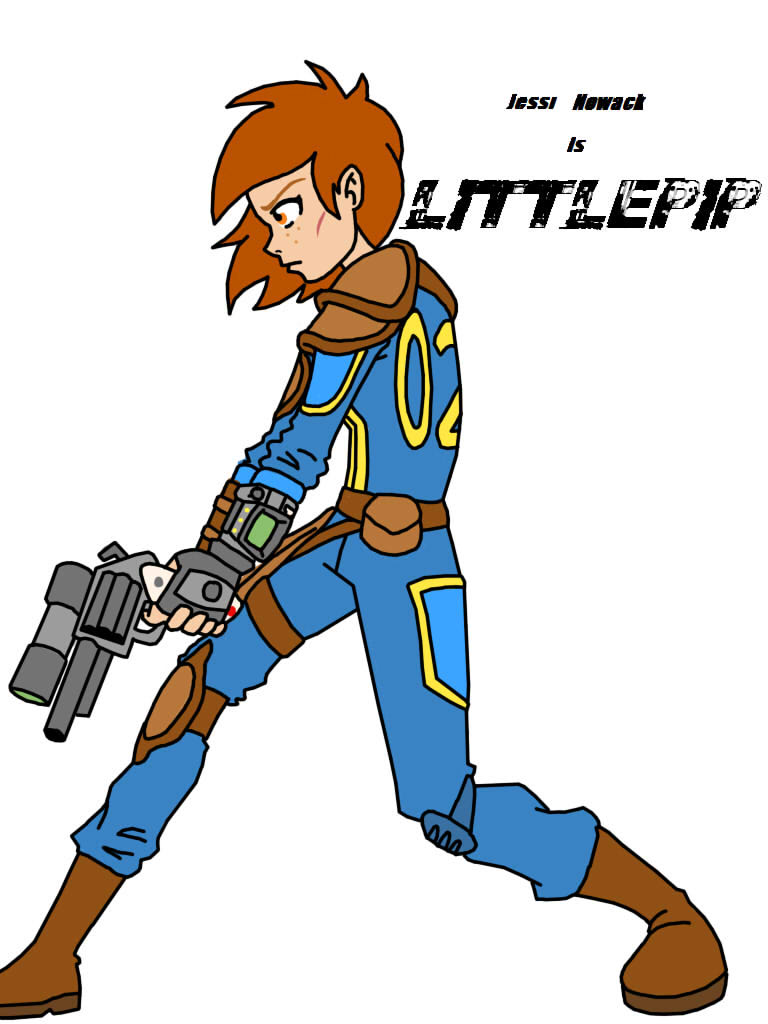 Fallout Humans: Littlepip by ArtieStroke