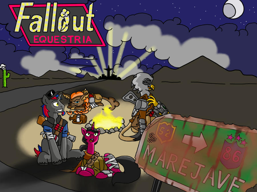 Fallout Equestria: Marejave By ArtieStroke On DeviantArt