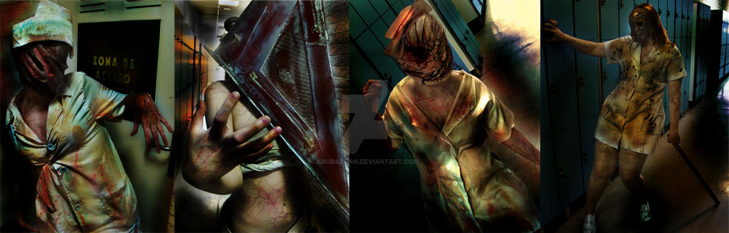 Silent Hill group by ArubaChan