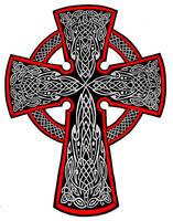 Celtic Cross Tattoo by Annikki