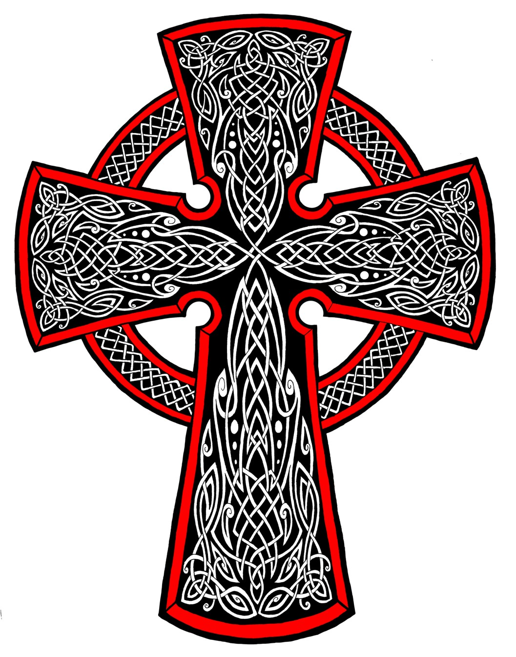 Celtic Cross Tattoo Pictures 19