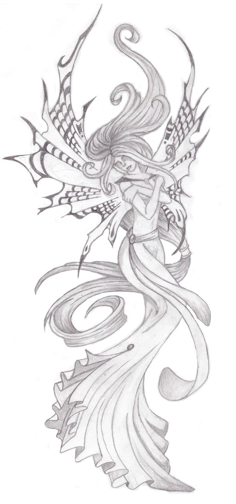 fairytattoo by annikki on deviantart