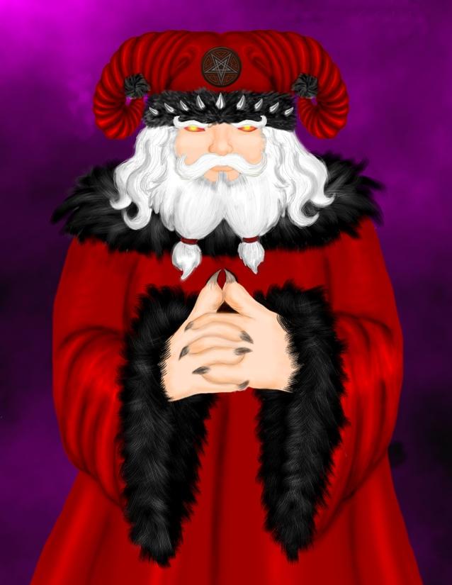 Satanic Santa by Annikki