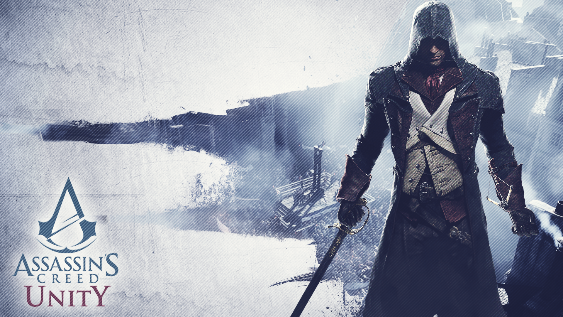 Assassin 39 s creed unity by moonscarf7 on deviantart - Assassin s creed unity wallpaper ...