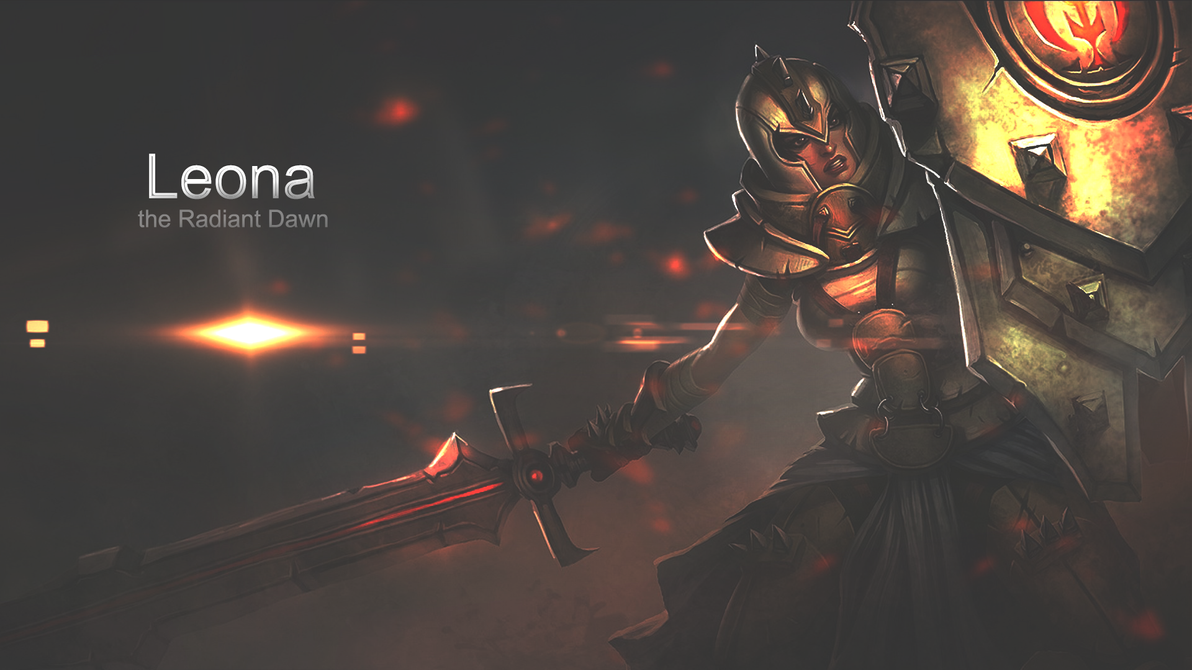 leona wallpaper fan art - photo #10