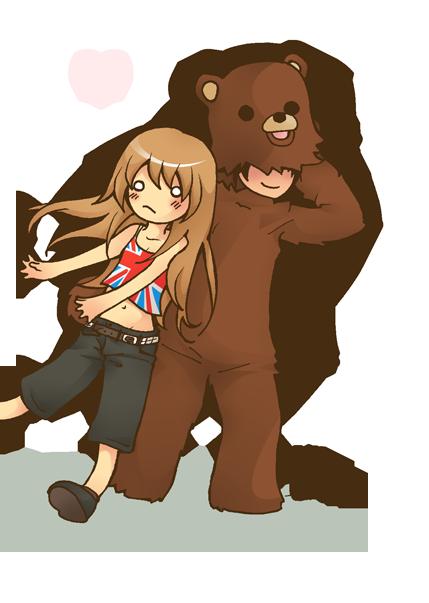 A Pedo Bear Stole Me by Erikari