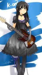 K-ON bassist Mio chan