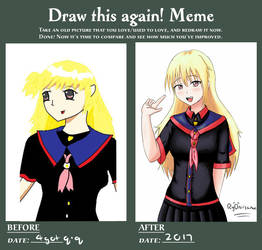 Ryo's DRAW THIS AGAIN MEME