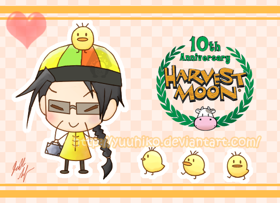 Harvest Moon Contest Entry by Yuuhiko