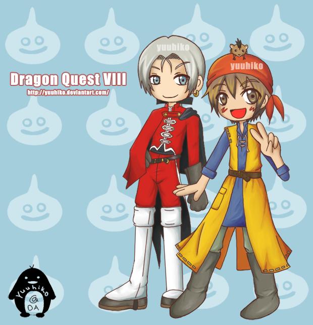 Dragon Quest VIII by Yuuhiko