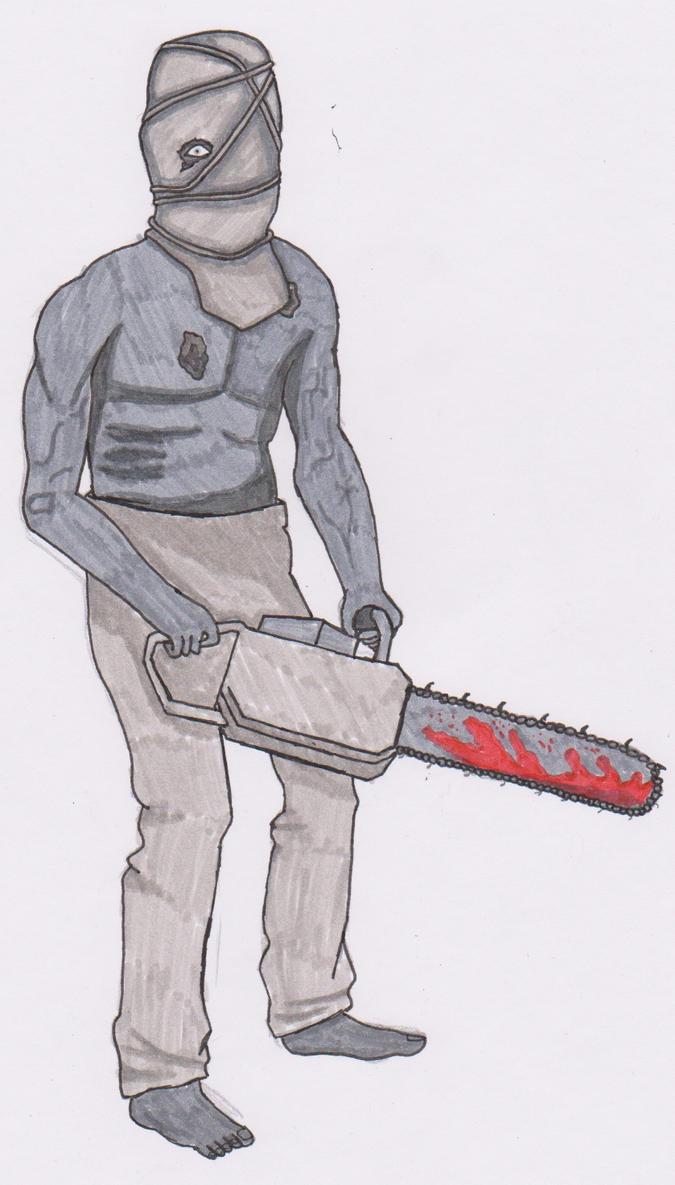 Resident Evil 4 Chainsaw Guy resident evil 5 chains...