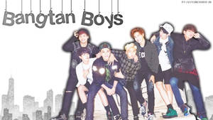 Bangtan Boys Wallpaper Edit