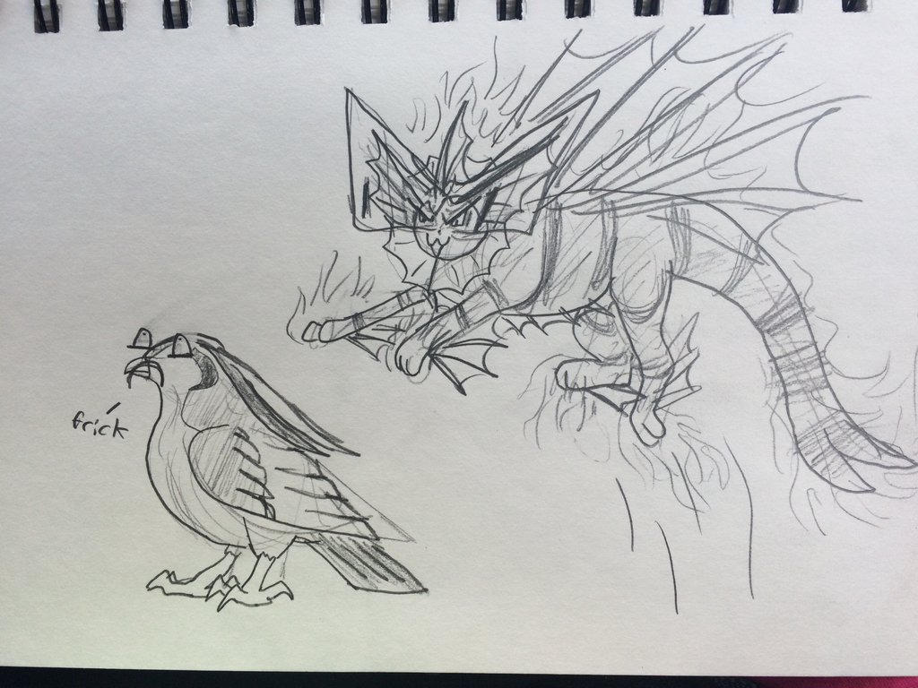 i told y'all I was bored by talons-and-tails