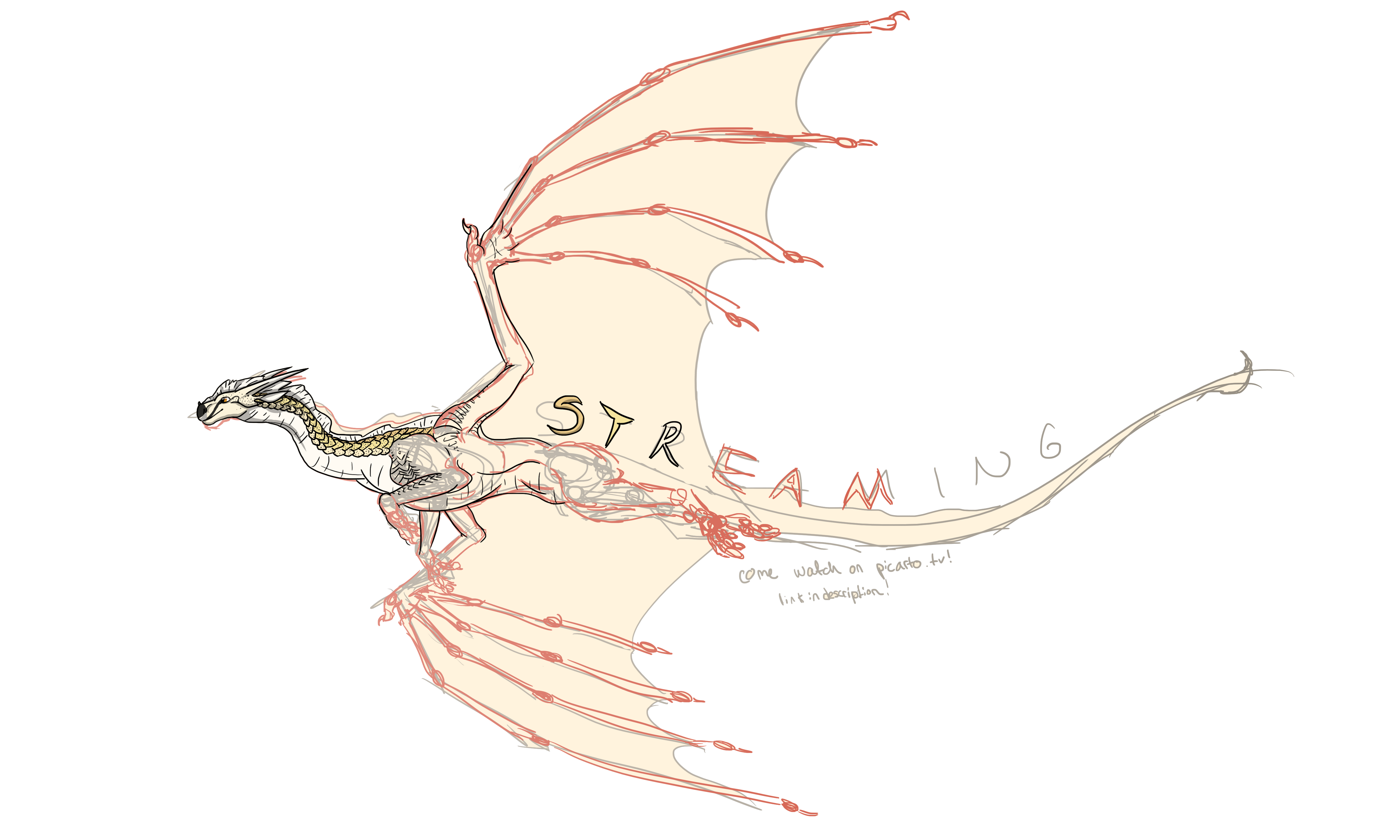 ((ONLINE)) STREAMING ON PICARTO by talons-and-tails