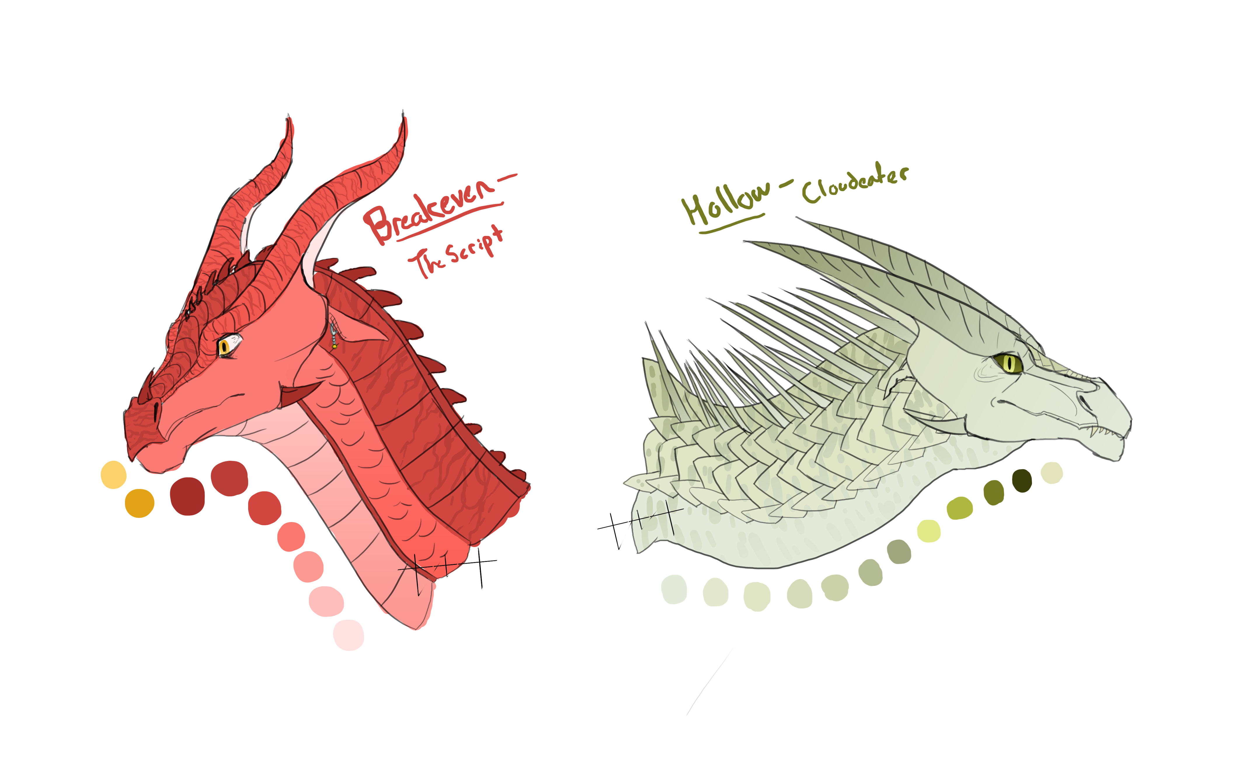 Wings of Fire Song Adopts OTA (CLOSED) by talons-and-tails