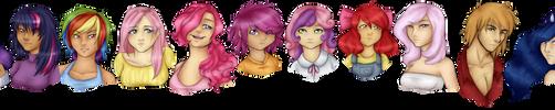 Equestria Girls by Weresquirrel94