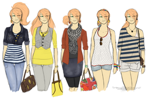 Tami fashion doodles by Weresquirrel94