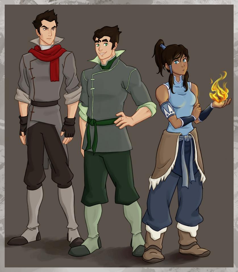 Team Avatar by punker--rocker